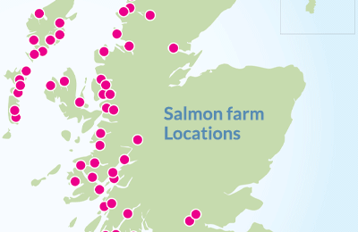salmon farm locations